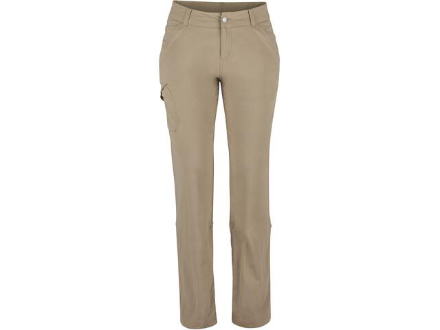 Marmot Lainey Pantalones Mujer, desert khaki
